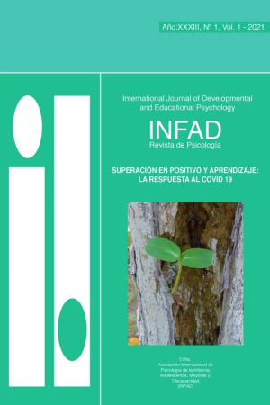 Revista INFAD. Número 1, volumen 1 de 2021